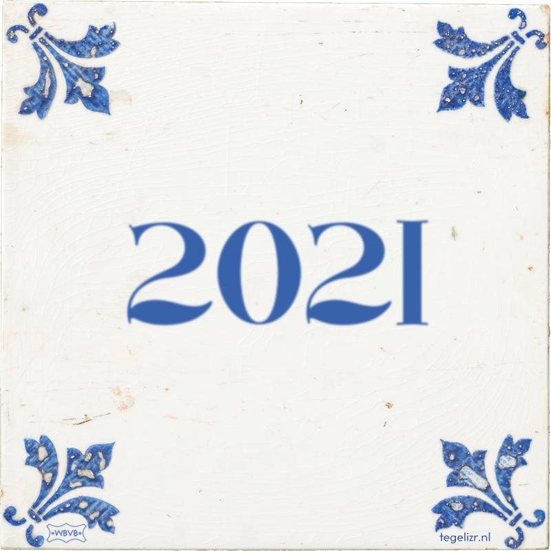 2021 - Online tegeltjes bakken