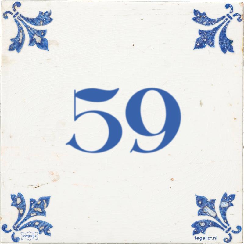 59 - Online tegeltjes bakken