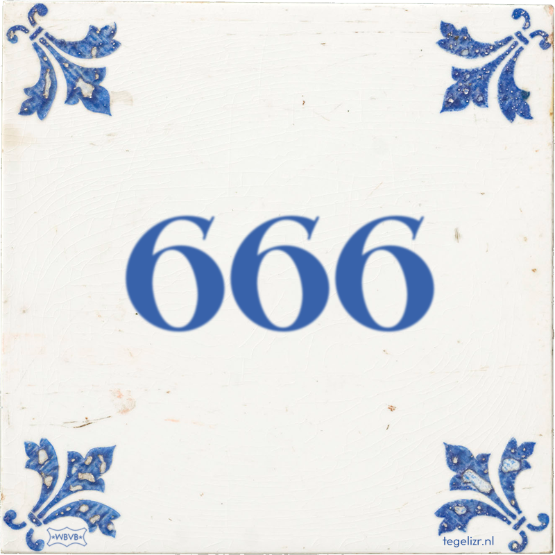 666 - Online tegeltjes bakken