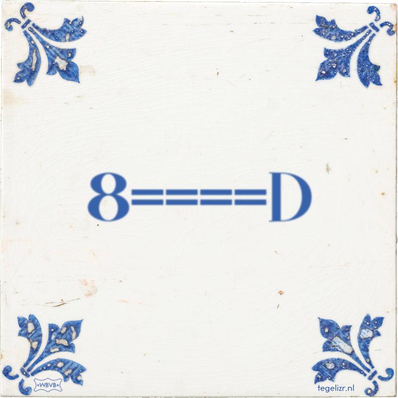 8====D - Online tegeltjes bakken