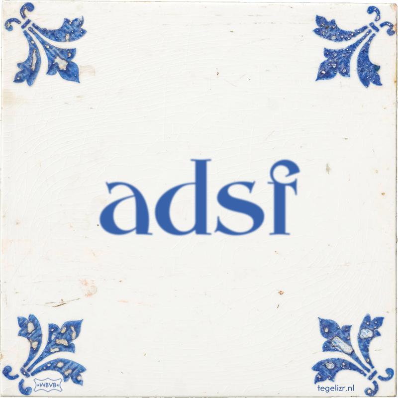 adsf - Online tegeltjes bakken