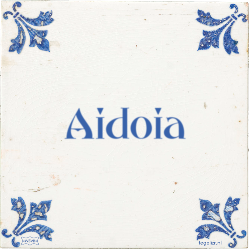 Aidoia - Online tegeltjes bakken
