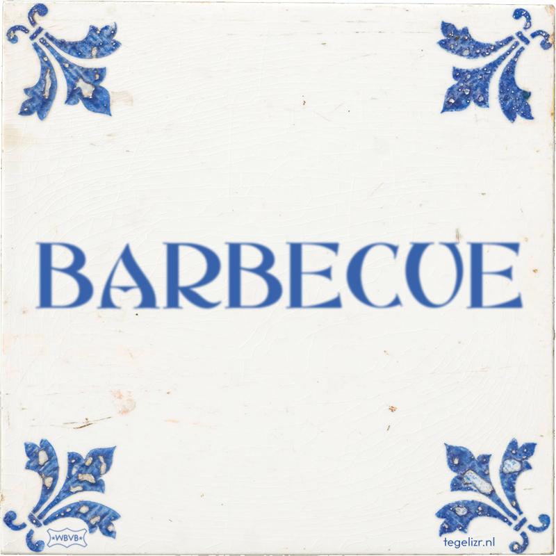 BARBECUE - Online tegeltjes bakken