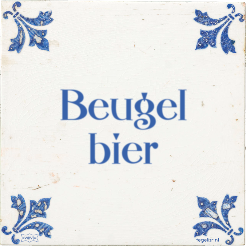 Beugel bier - Online tegeltjes bakken