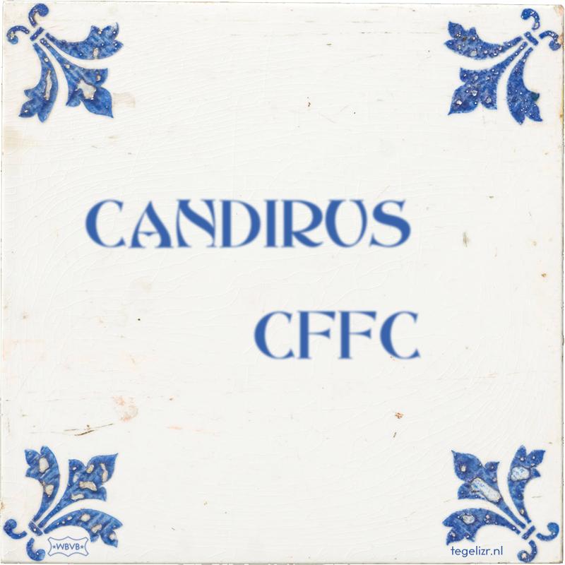 CANDIRUS CFFC - Online tegeltjes bakken