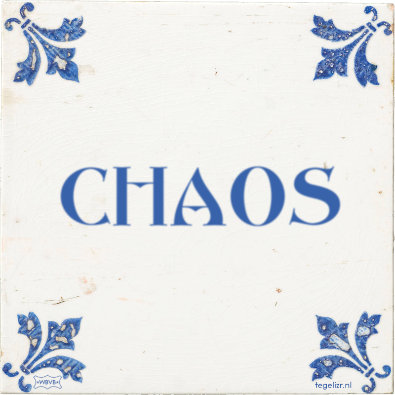 CHAOS - Online tegeltjes bakken