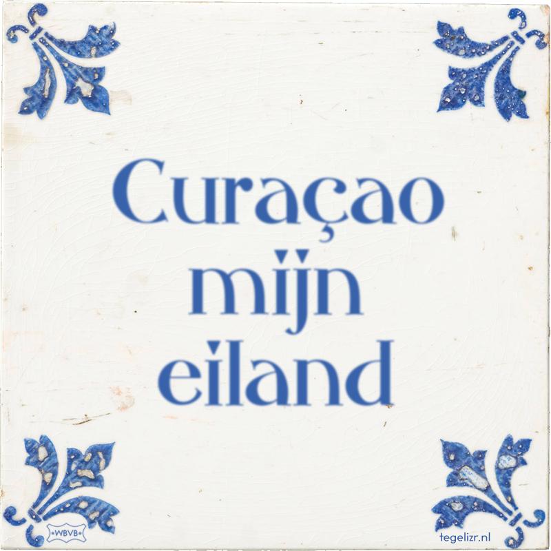 Curaçao mijn eiland - Online tegeltjes bakken