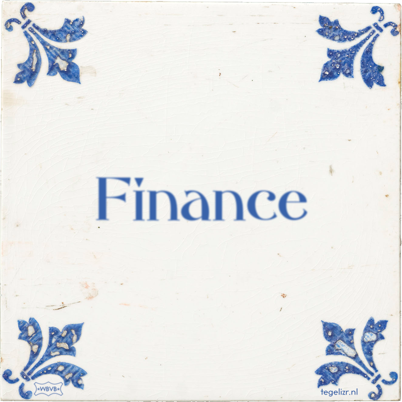 Finance - Online tegeltjes bakken