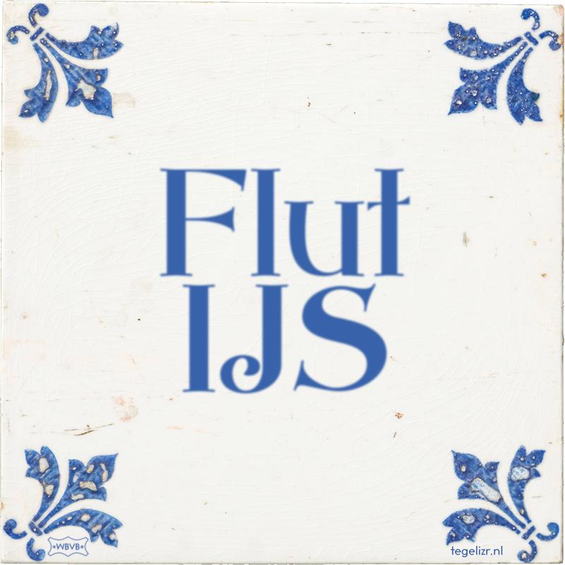 Flut IJS - Online tegeltjes bakken