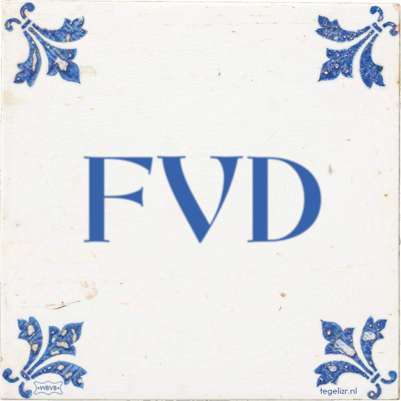 FVD - Online tegeltjes bakken