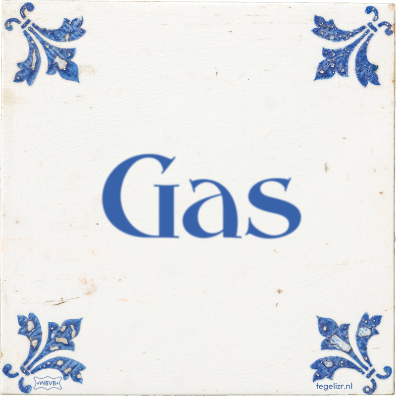 Gas - Online tegeltjes bakken