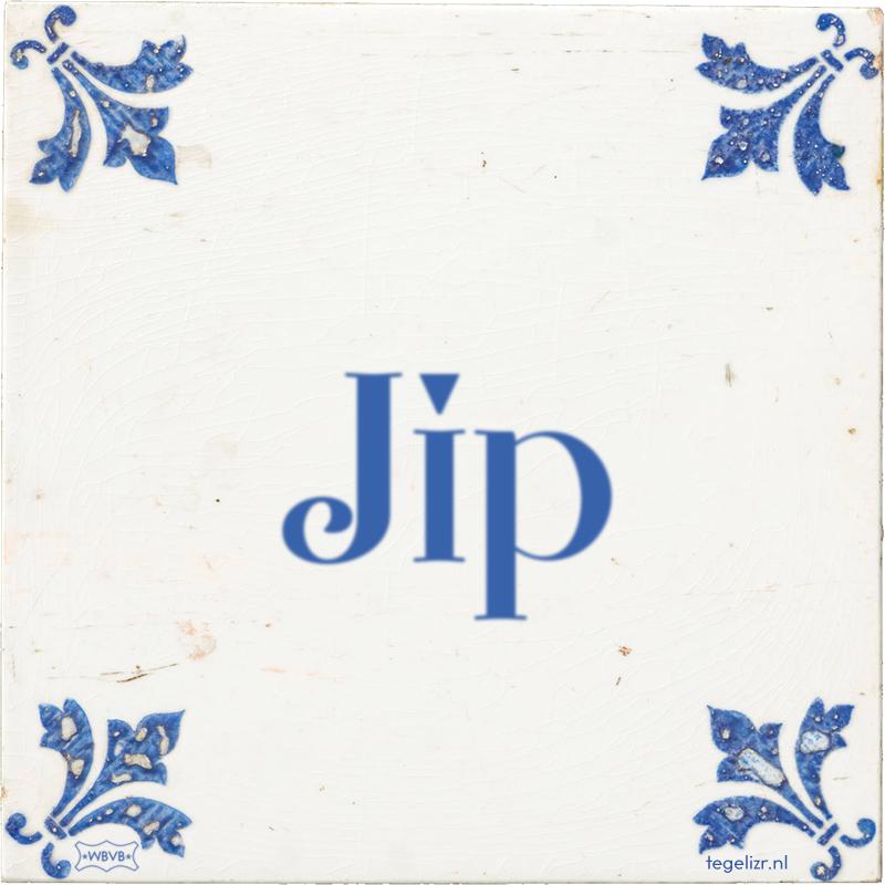 Jip - Online tegeltjes bakken