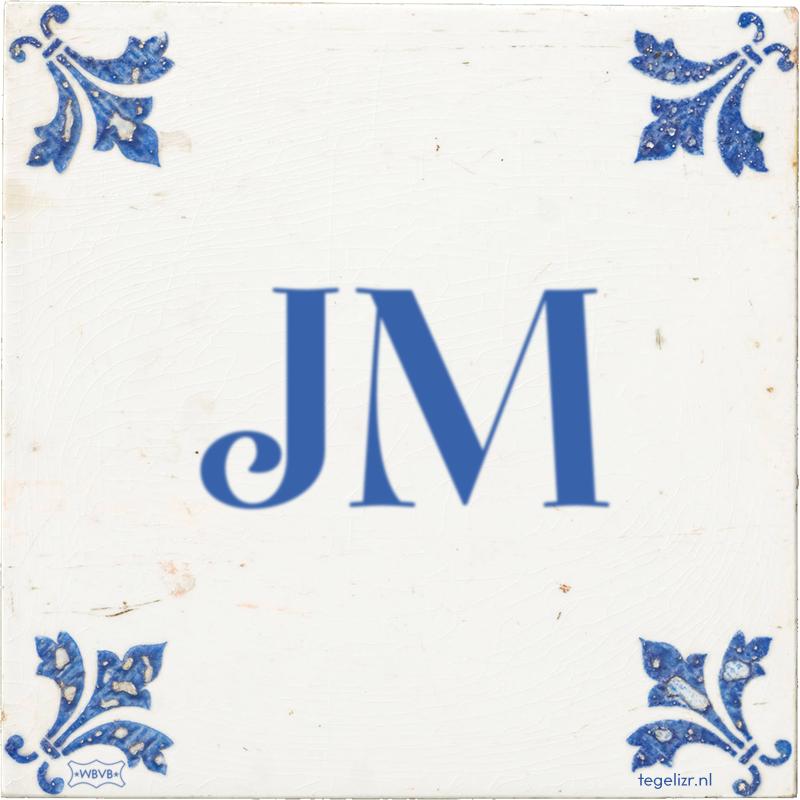 JM - Online tegeltjes bakken