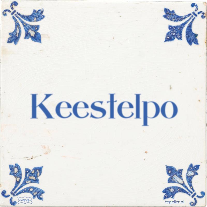 Keestelpo - Online tegeltjes bakken