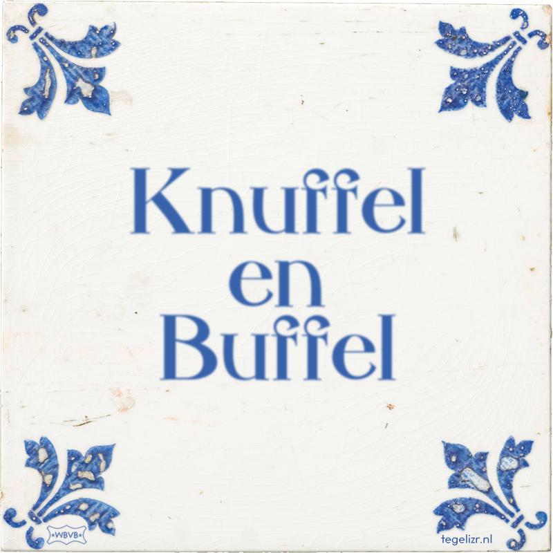 Knuffel en Buffel - Online tegeltjes bakken